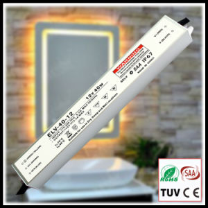 40W Constant Voltage Waterproof IP67 LED Driver with SAA pictures & photos