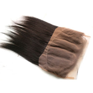 Pre Plucked 360 Lace Frontal Closure Vietnamese Virgin Human Hair Silky Straght Natural Hairline Lace Band Frontals with Baby Hair pictures & photos
