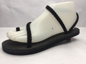 Fashion Beach Flip Flop Pure Strappy Sandals (23LG1710) pictures & photos