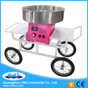 Commercial Digital Cotton Candy Floss Machine Cart/Wagon pictures & photos
