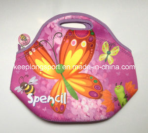 Fashionable Customized Neoprene Lunch Bag for Women pictures & photos