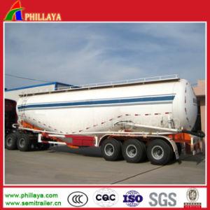 3 Axle Bulk Cement Tank Truck Semi Trailer Powder Tanker pictures & photos