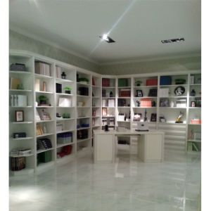 2015 New White PVC MDF Bookcase (FY-1029) pictures & photos