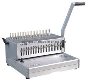 Manual Book Binder Comb Binding Machine (CB360) pictures & photos