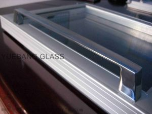 Counter Top Freezer Glass Door with Aluminum Frame