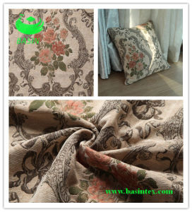Jacquard Chenille Sofa Fabric (BS7007) pictures & photos