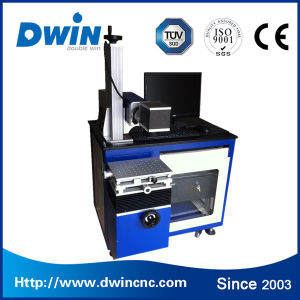 Jinan Hot Sale 10W/ 20W Laser Marking Machine for Metal pictures & photos