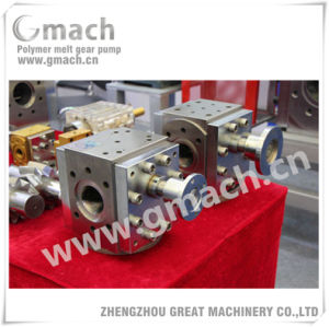 Plastic Extrusion Melt Pump Metering Pump for HDPE Pipe Extrusion Line pictures & photos