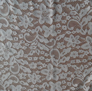 White Spandex Lace Fabric pictures & photos