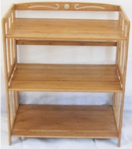 Bamboo Shelf Display Rack for Household (QW-JCSG002) pictures & photos