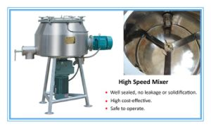 150L Vertical Powder Coating Use High Speed Pre-Mixer pictures & photos