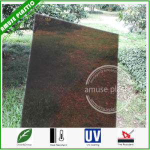 Polycarbonate Sheet Building Material Bronze PC Solid Board Wholesale pictures & photos