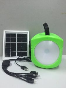Solar LED Hand Portable Lamp From TUV Factory with 2 Years Warranty pictures & photos
