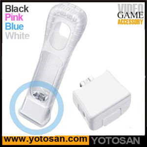 Motion Plus Adapter + Silicone Sleeve Skin for Nintendo Wii