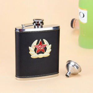 304 Stainless Steel Hip Flask in 7 Oz pictures & photos