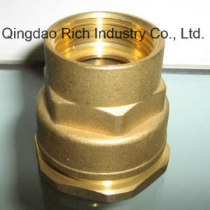 Brass Tube Fitting Brass Brake Adapter Fittings/Aluminium Forged Tubes pictures & photos