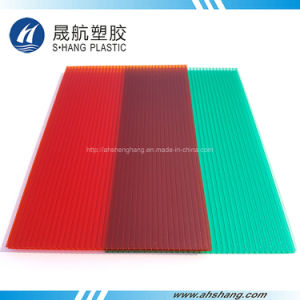 Crystal Poly Carbonate Hollow Sheeting with SGS Approval pictures & photos