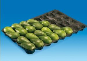 FDA Approval Disposable PP Plastic Avocado Trays for Fresh Fruit Packaging pictures & photos