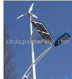 Wind-Solar Complementary Street Light Landscape pictures & photos