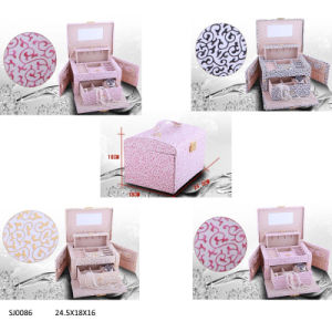 High Quality Elegant PVC Jewelry Box (SJ0086)