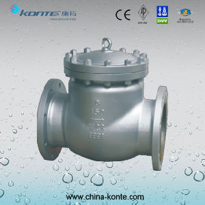 API Swing Check Valve with Wcb 150lb Dn200 pictures & photos