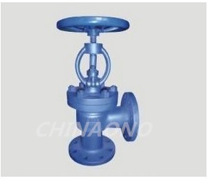 Stainless Steel Angle Type Globe Valve pictures & photos