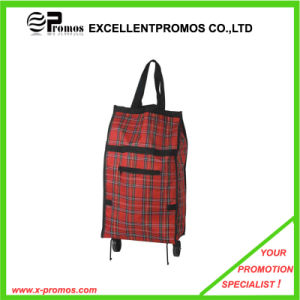 600d Folding Shopping Trolly Bag for Promotion (EP-B6228) pictures & photos