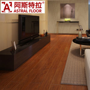 Ash Color Bedroom Used 12mm Laminate Flooring pictures & photos