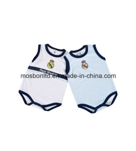 2016 100% Cotton Child Football Jersey Clothes Babysuit pictures & photos