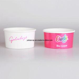 6oz Ice Cream Paper Cups Yogurt Paper Cup pictures & photos