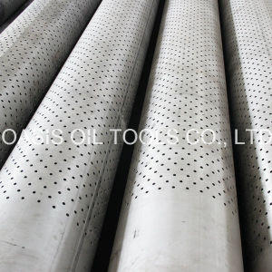 Welded Stainless Steel Perforated Pipe/Tube pictures & photos