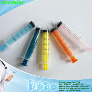 Disposable Syringe 5ml Luer Slip with Hypodermic Needle pictures & photos
