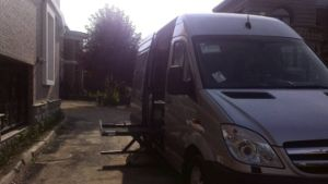 China Wheelchair Lifts Manufacturer for Van CE Loading 350kg pictures & photos