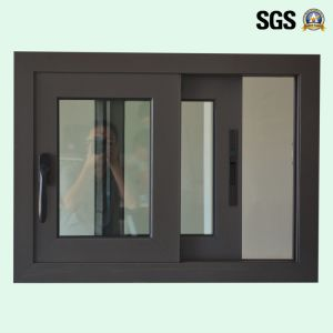 High Quality Double Glass Aluminum Sliding Window, Aluminium Window, Window K01174 pictures & photos