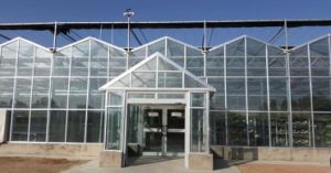 Tempered Glass Greenhouses Exhibition Green House pictures & photos
