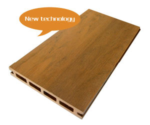 Color Grain WPC New Promotion Decking Board pictures & photos
