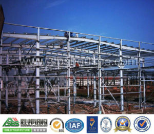 Prefabricated Steel Structural Workshop Building Shed pictures & photos