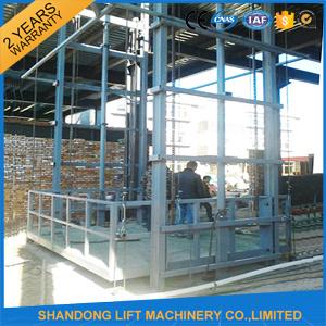 Vertical Lead Rail Cargo Lift Platform pictures & photos
