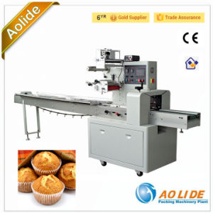 Sponge Cake Packaging Machine Postry Packaging Machine Fruit Cake Wrapping Machine pictures & photos