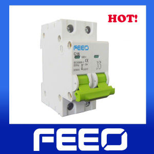 DIN Rail 2p 40A Mini Circuit Breaker MCB pictures & photos