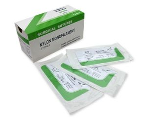 Nylon Surgical Suture Synthetic Non Absorbable Suture USP1# pictures & photos