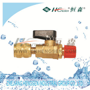 Filling Ball Valve/ Refrigeration Fittings pictures & photos