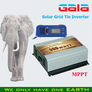 Free Sample 500W Micro Solar/Wind Grid Tie Inverter with LCD Display MPPT Function