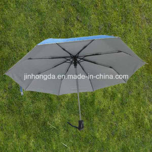"21""X8k Auto Open and Close 3 Folding Umbrella (YS3F0001)"