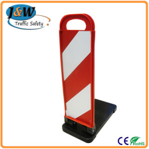 Traffic Delineator Posts, Engineer Grade Reflective Film Traffic Posts Barriers pictures & photos