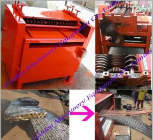 Copper Pipe Air Condition Radiator Crusher Separator Recycling Machine pictures & photos