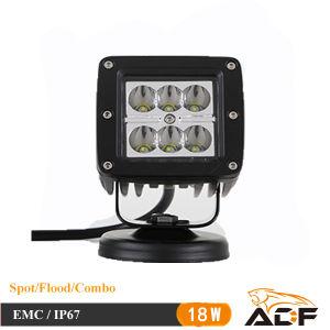 CREE 18W IP67 Square Spot LED Work Light LED Car Light