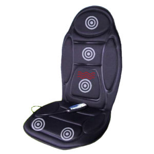 Car and Home 5 Motors Vibrating and Heat Massage Cushion pictures & photos