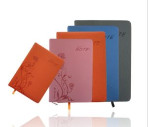 High Quality Colored PU Leather Agenda/ Portfolio/ Notebook