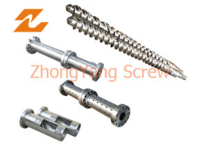 Rubber Extruder Screw Barrel Rubber Screws pictures & photos